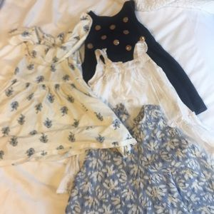 Other - Lot of 4 toddler girl dresses